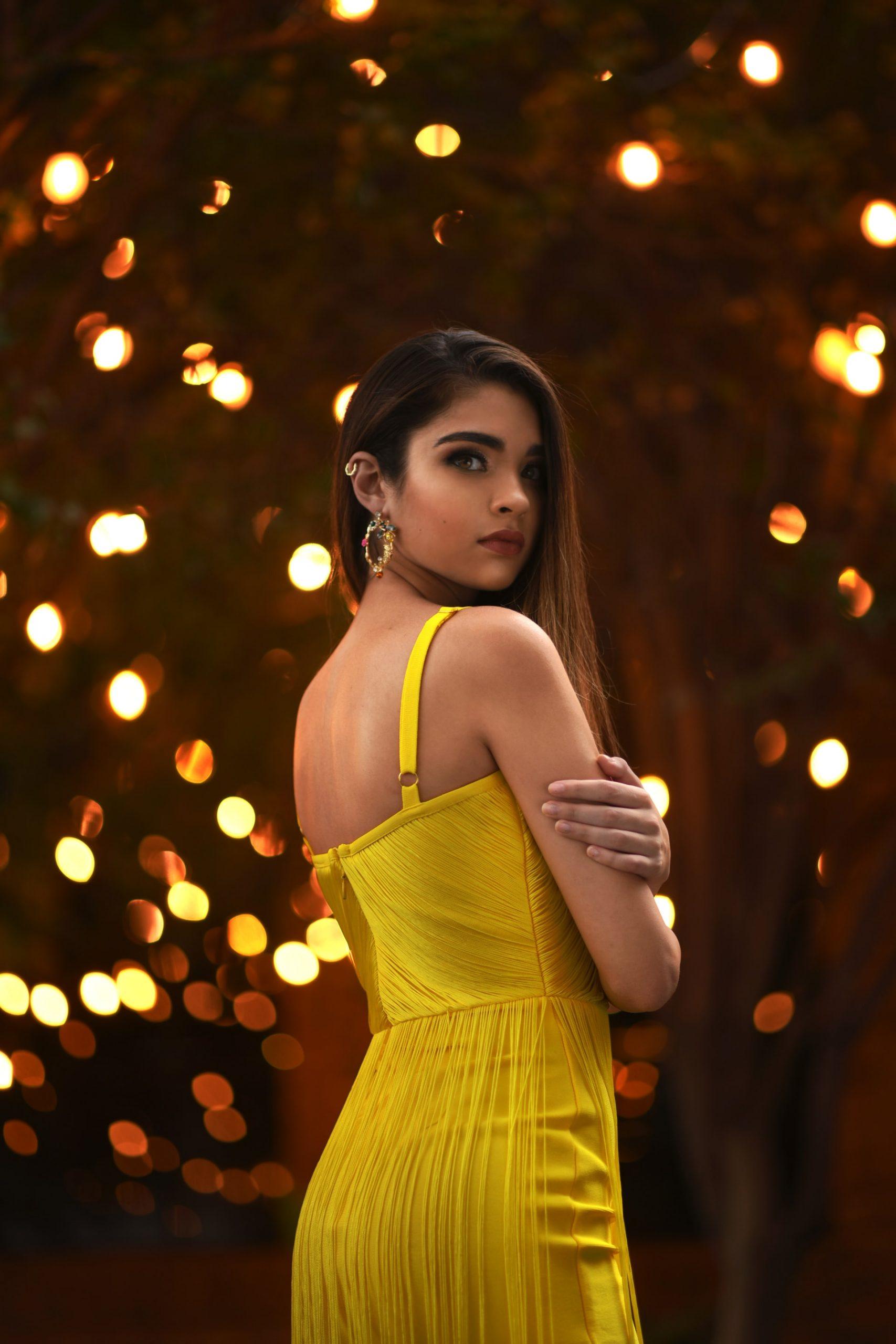 woman-yellow-dress